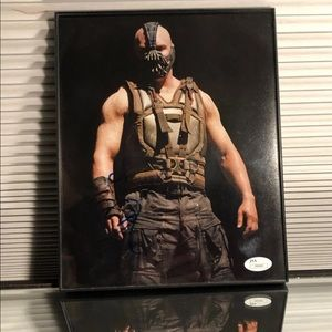 Tom Hardy (Bane, Dark Knight Rises) Autograph